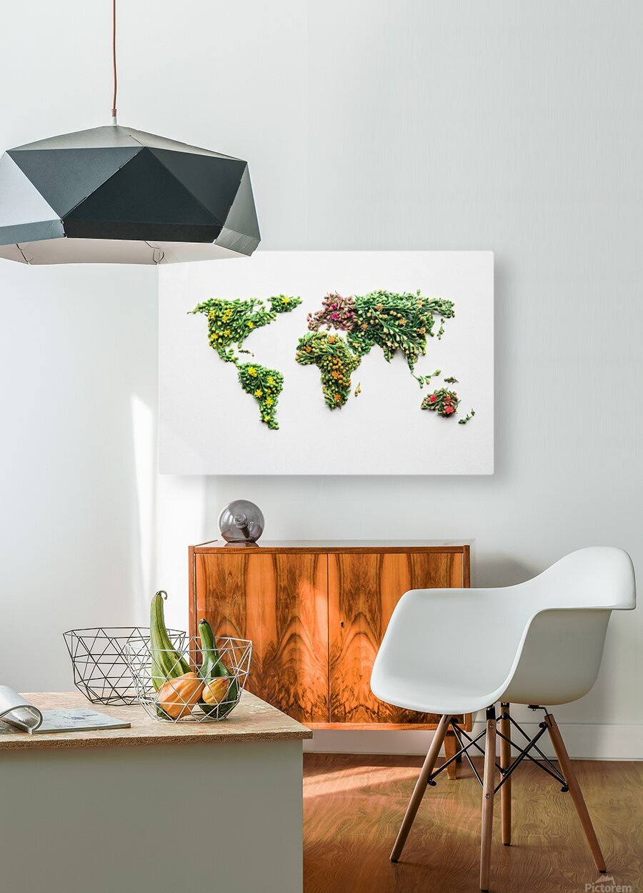 Light Continent Ciriel  HD Metal print with Floating Frame on Back