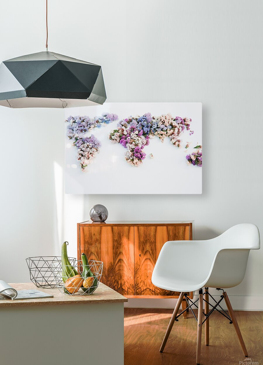Light Continent Erina  HD Metal print with Floating Frame on Back