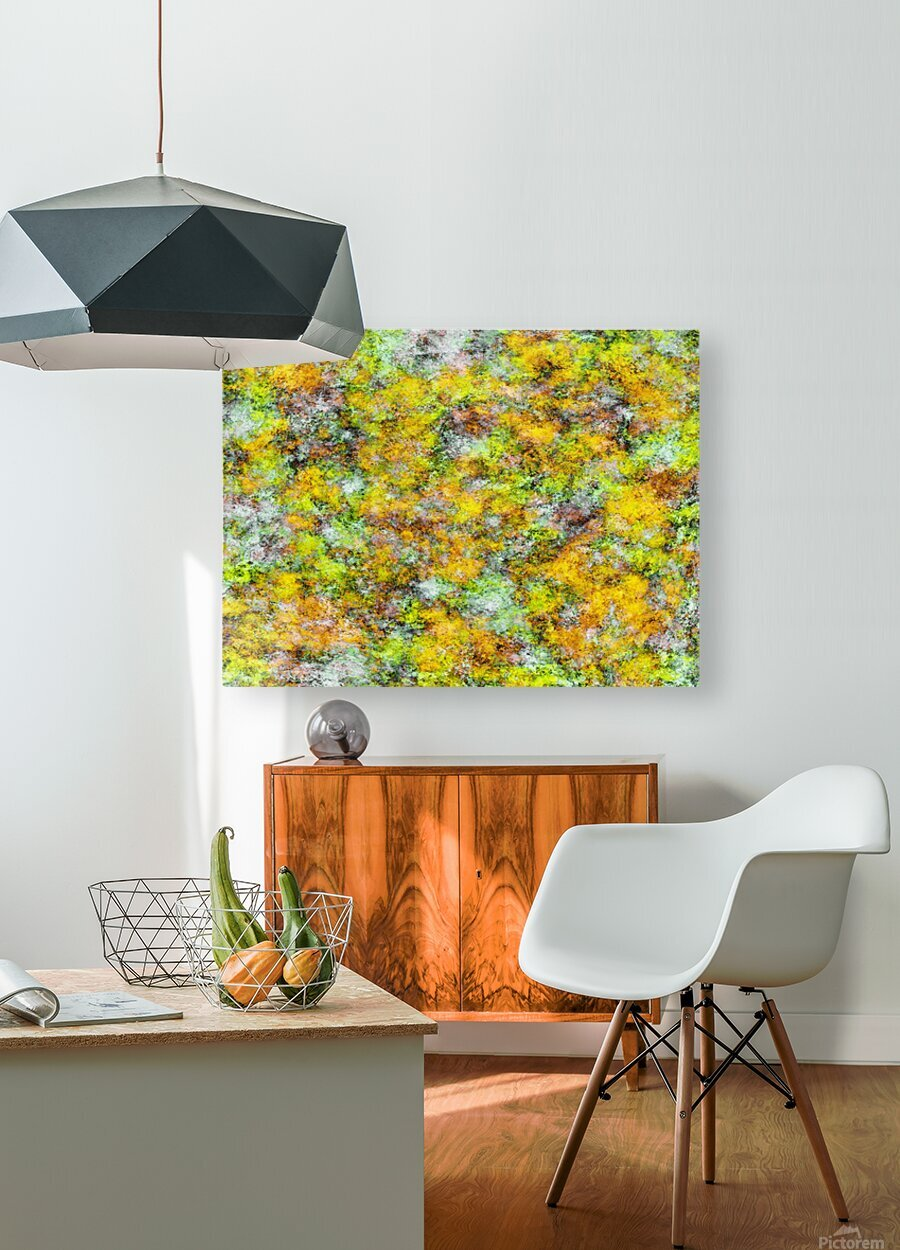 Scrambled eggs  HD Metal print with Floating Frame on Back