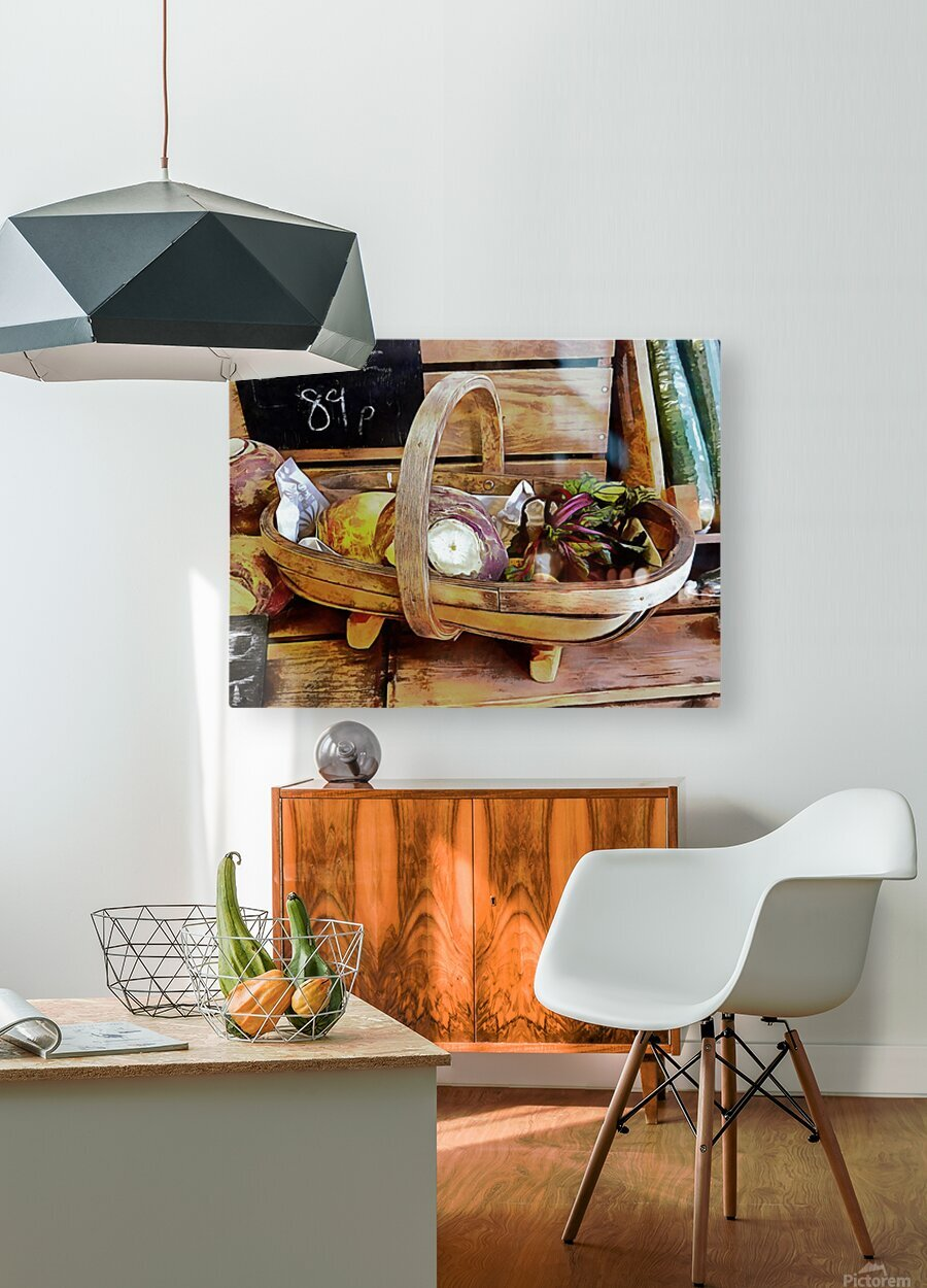 Swede Sale Display  HD Metal print with Floating Frame on Back