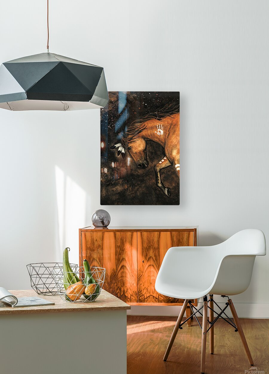 Night Walker  HD Metal print with Floating Frame on Back