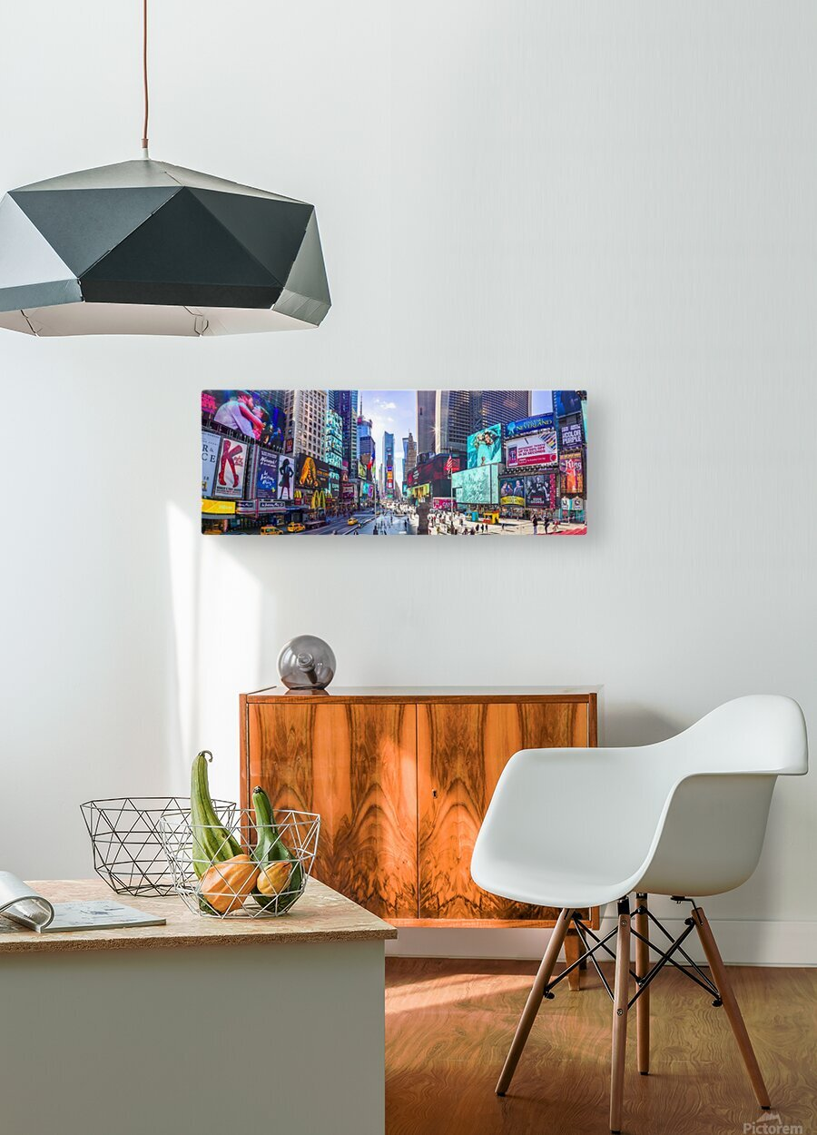Times Square, New York City  HD Metal print with Floating Frame on Back