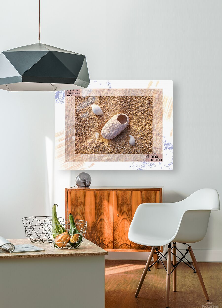 the child - Spanish  HD Metal print with Floating Frame on Back
