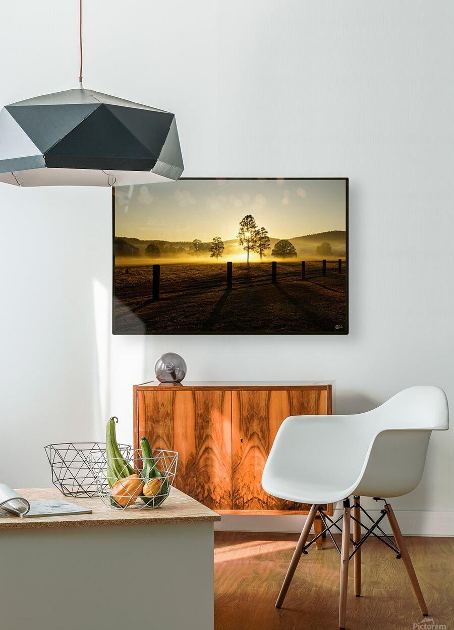 glenreagh sunrise  HD Metal print with Floating Frame on Back