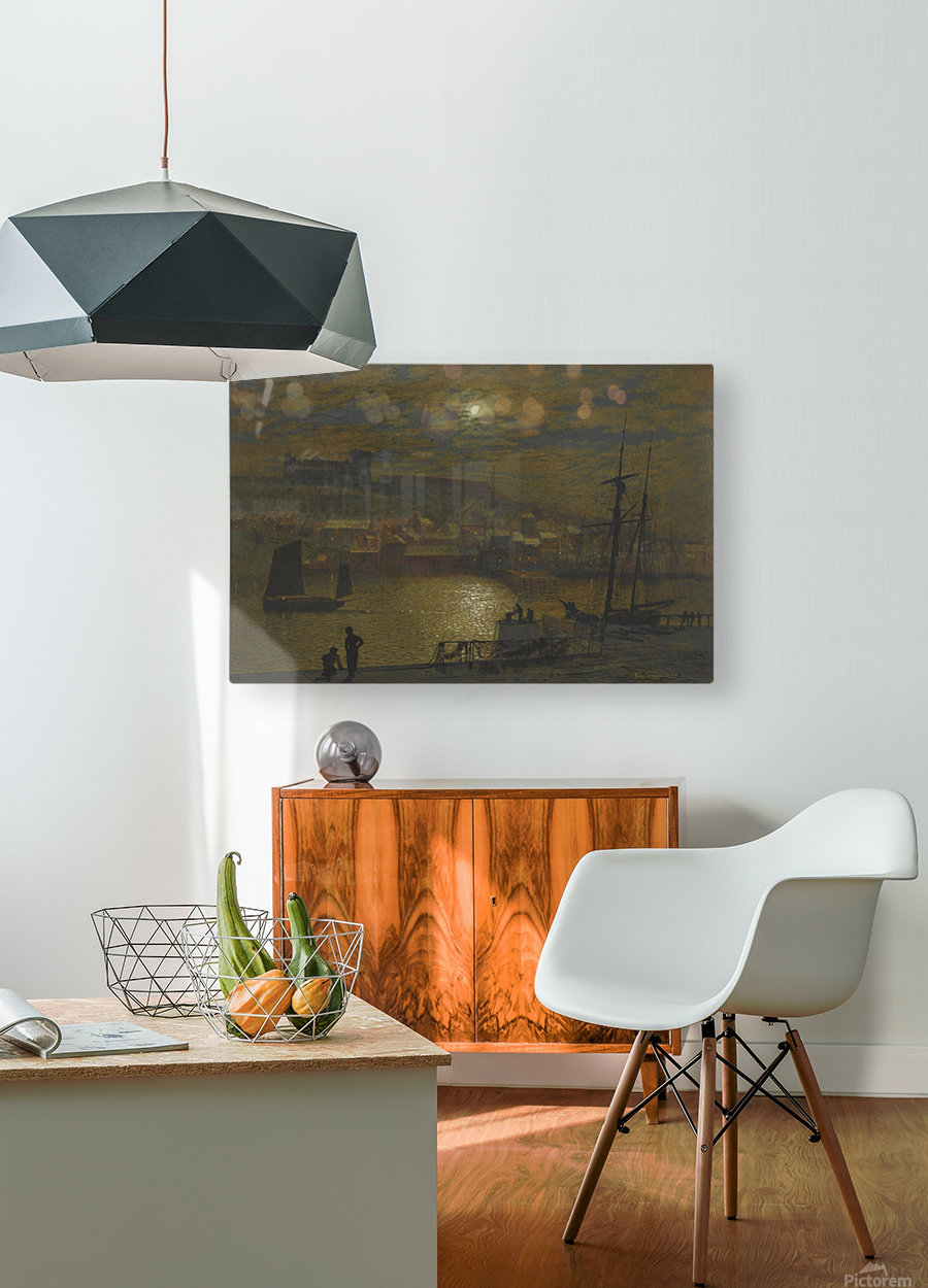 Whitby  HD Metal print with Floating Frame on Back