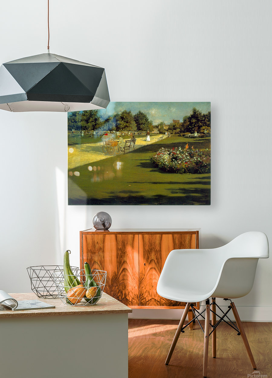 Prospect Park by Chase  HD Metal print with Floating Frame on Back