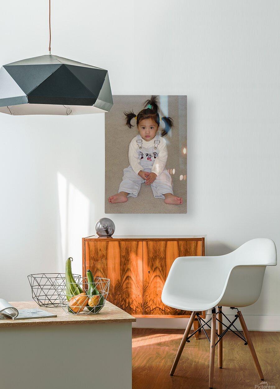 Cherub  HD Metal print with Floating Frame on Back