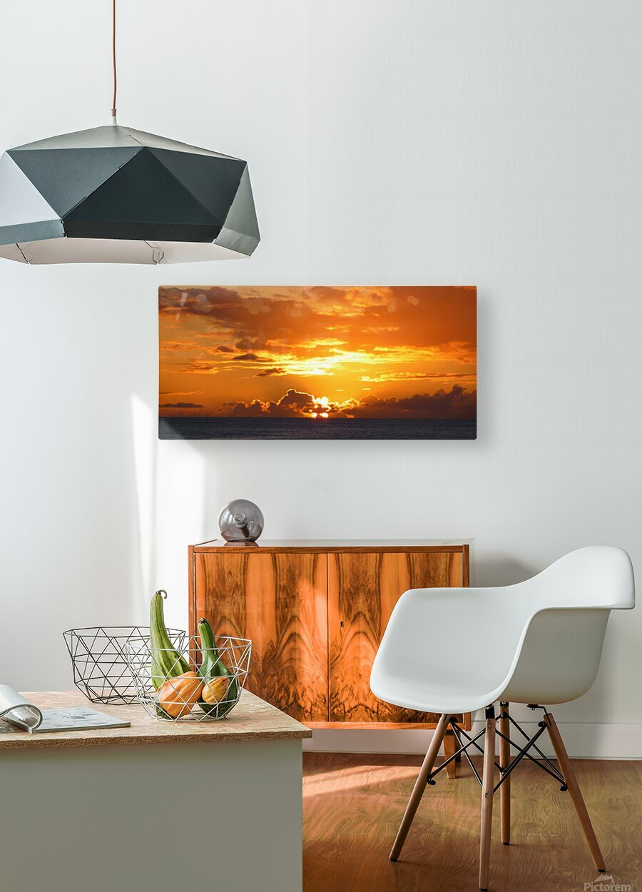After the Storm  HD Metal print with Floating Frame on Back