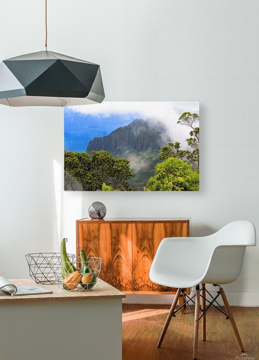 Wild Kauai 3  HD Metal print with Floating Frame on Back