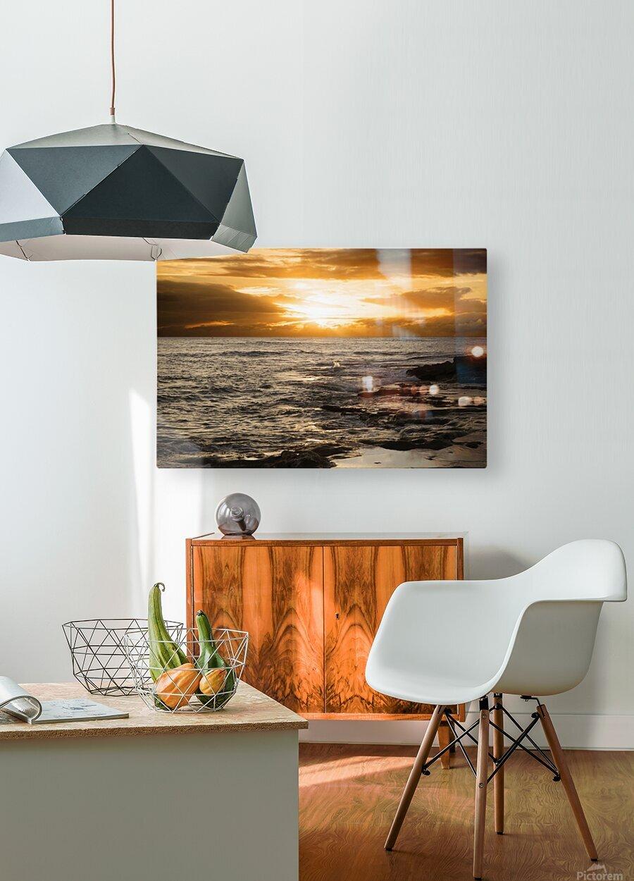 Dusk  HD Metal print with Floating Frame on Back