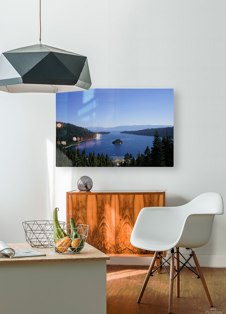 Top of the Lake  HD Metal print with Floating Frame on Back