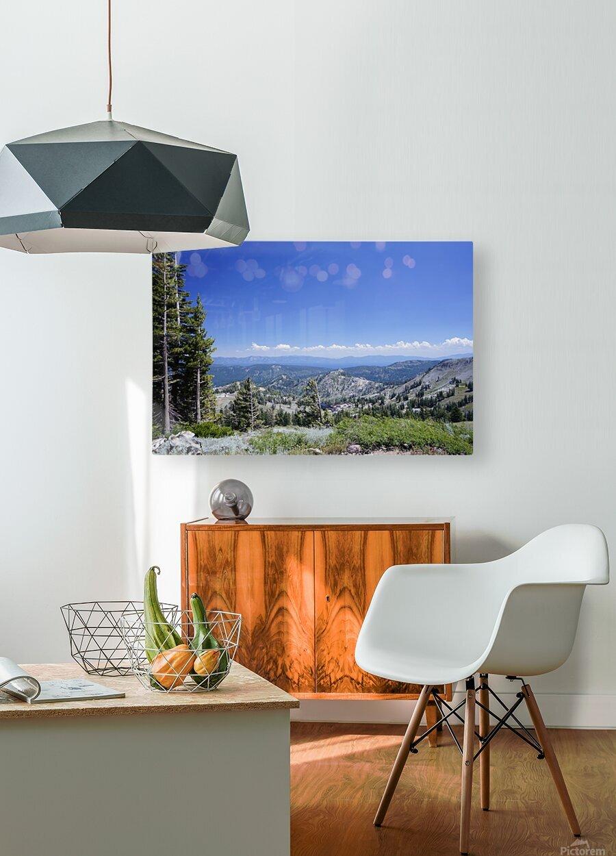 Sierra Nevada in Spring 2 of 8  HD Metal print with Floating Frame on Back