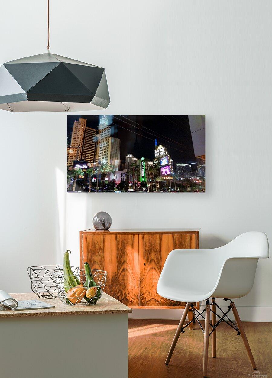 Viva Las Vegas 2  HD Metal print with Floating Frame on Back