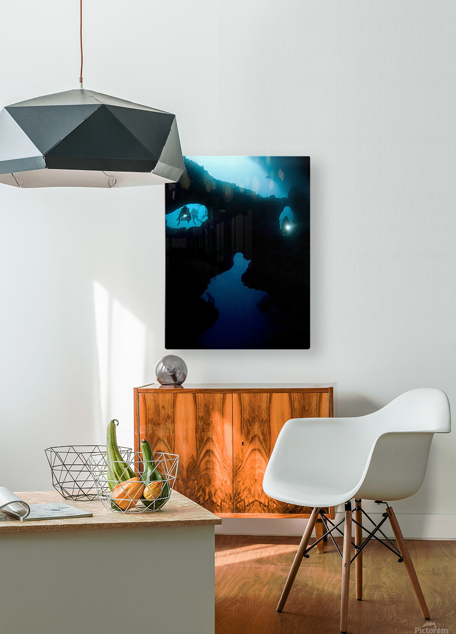 Cathedral at Pescador Island  HD Metal print with Floating Frame on Back