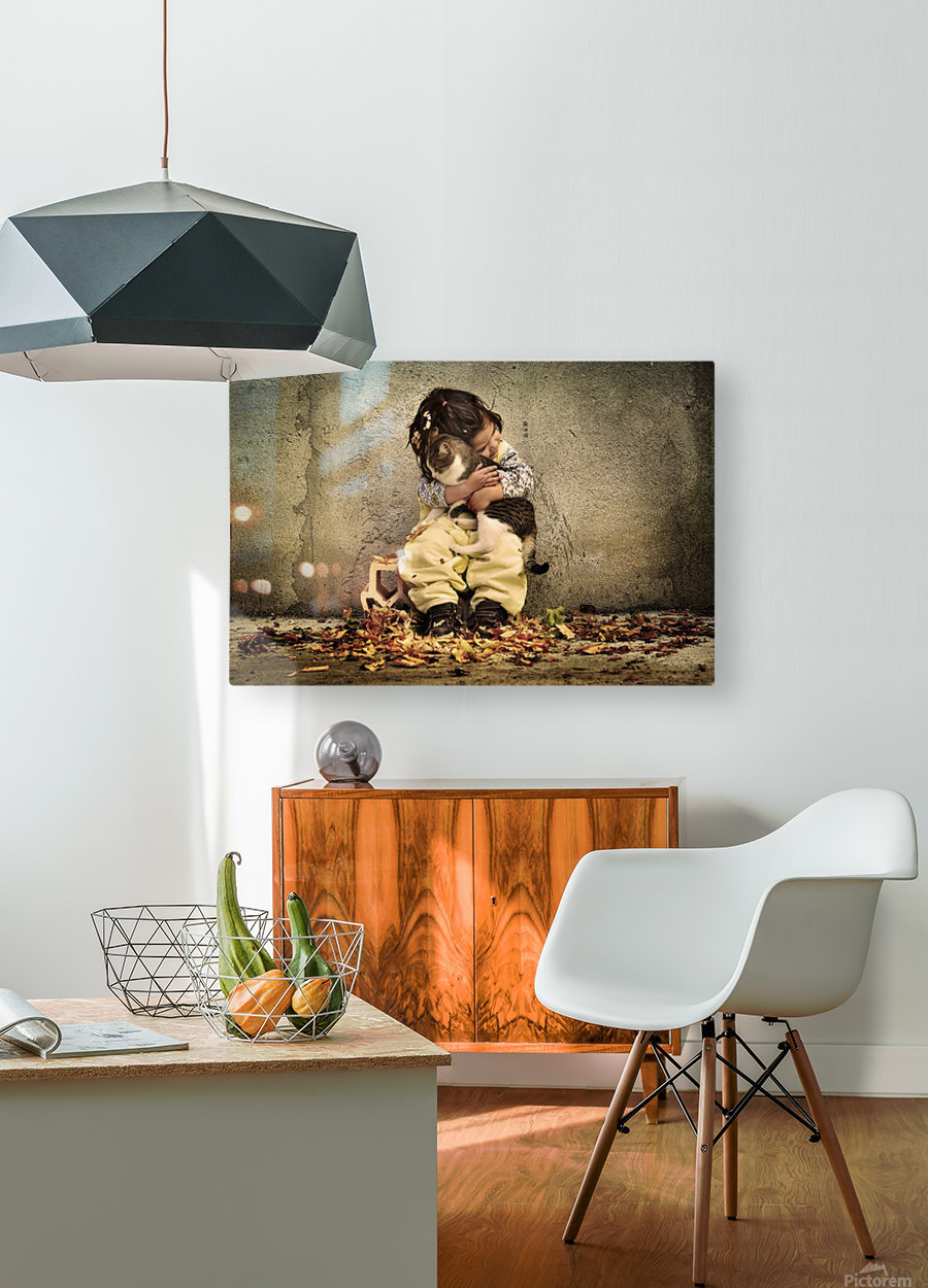 Untitled by Iacob Anca   HD Metal print with Floating Frame on Back