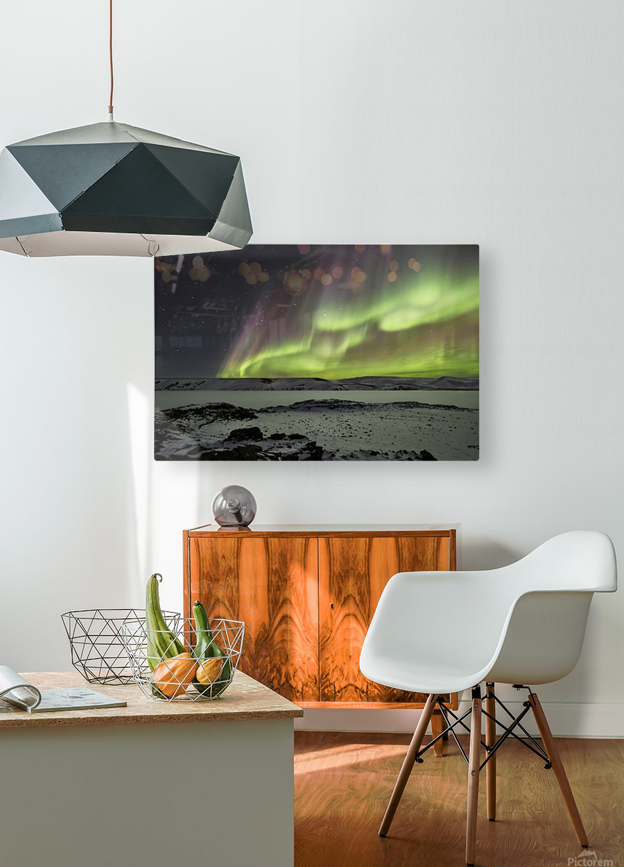Celestial by Bragi Ingibergsson -  HD Metal print with Floating Frame on Back