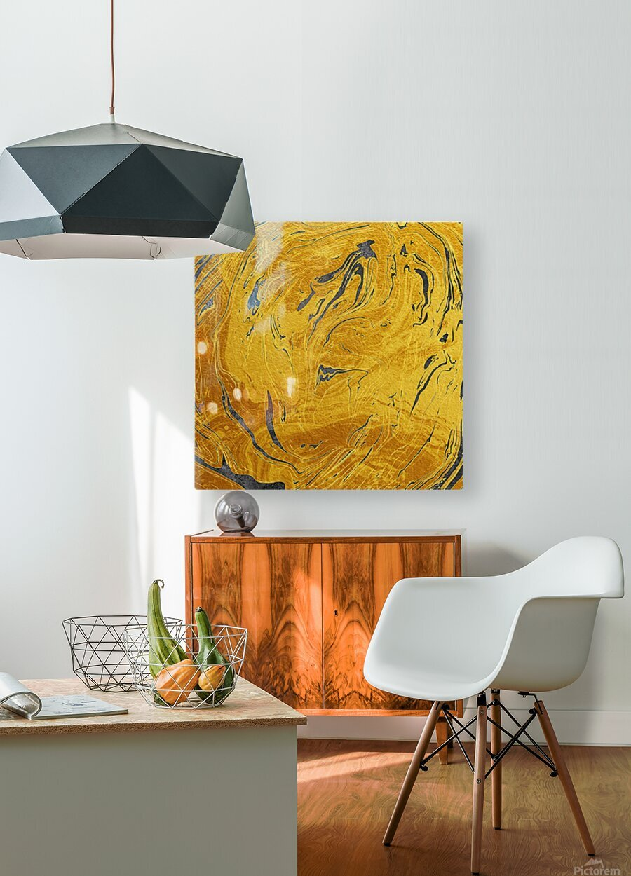 Abstract Marble XXX  HD Metal print with Floating Frame on Back