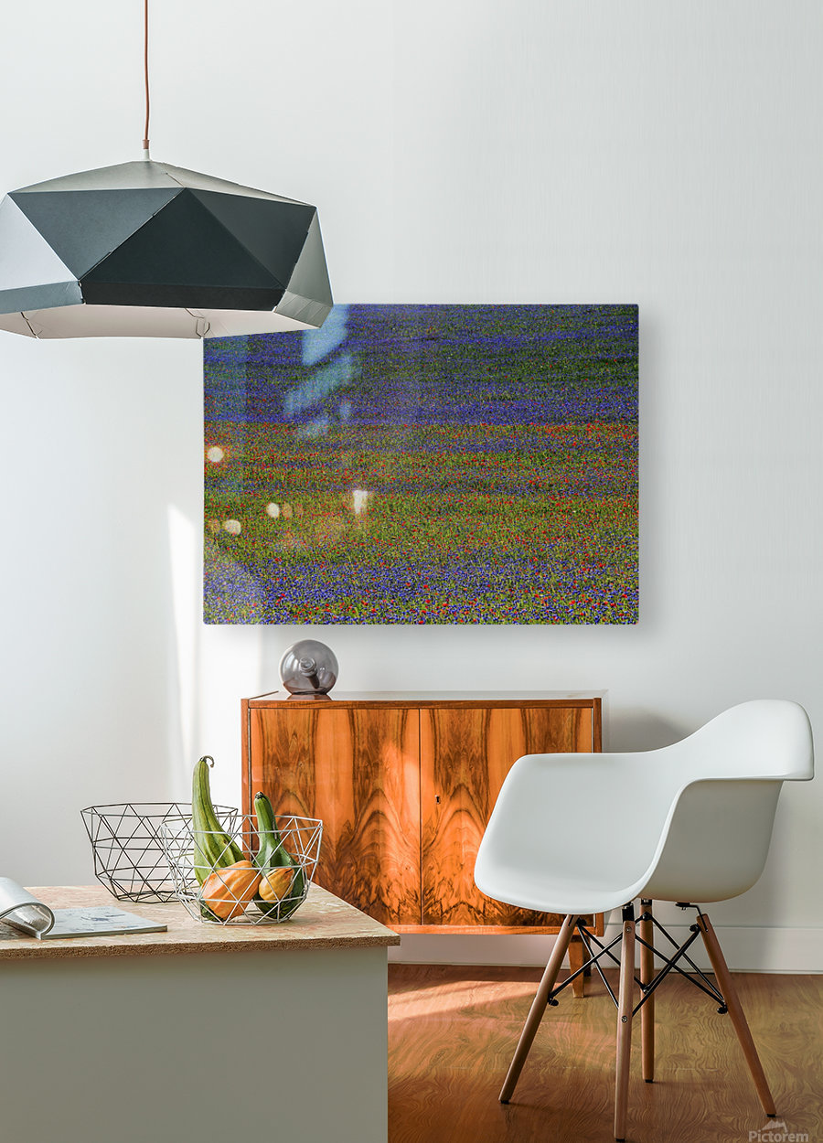 get lost  HD Metal print with Floating Frame on Back