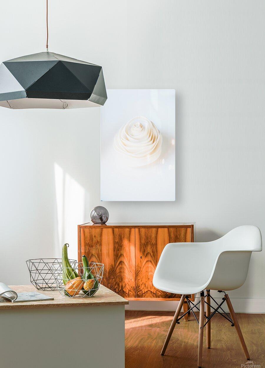 Daltana Spring Artill  HD Metal print with Floating Frame on Back