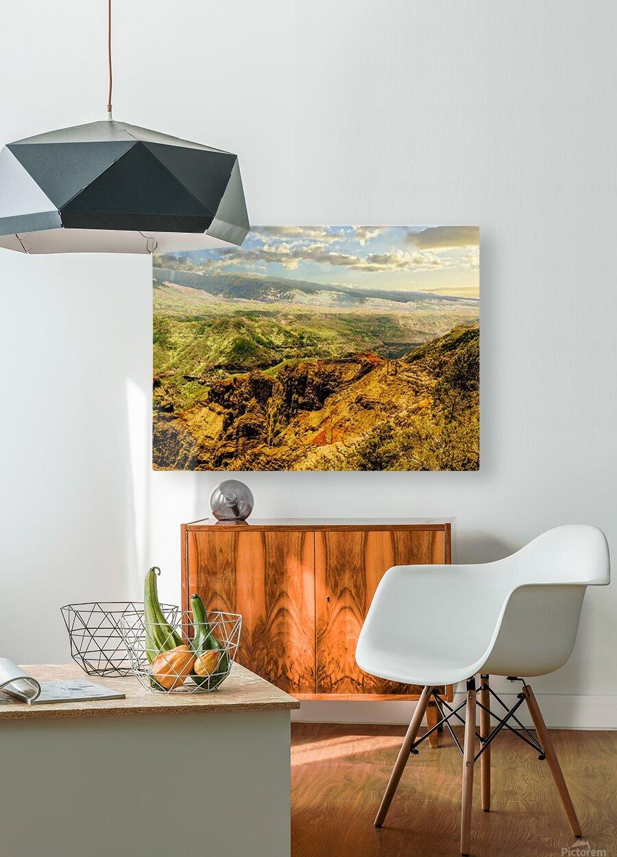 Untamed Kauai 3 of 5  HD Metal print with Floating Frame on Back