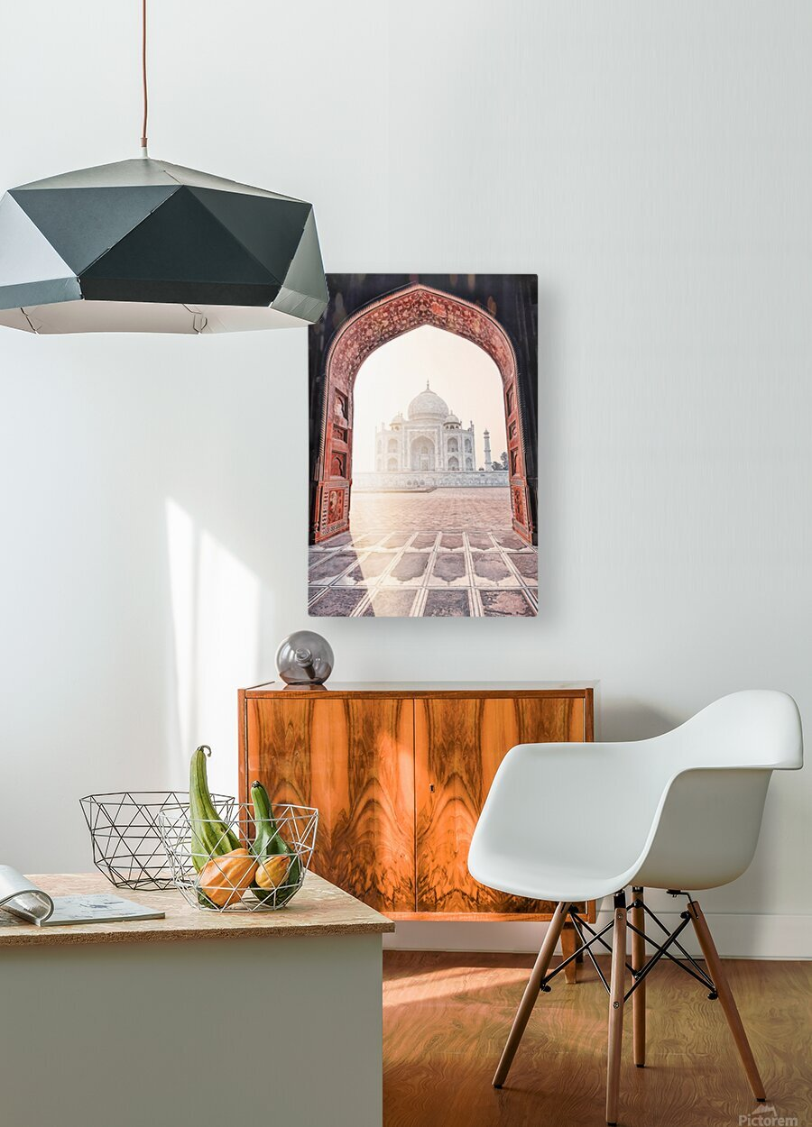 Morning light  HD Metal print with Floating Frame on Back