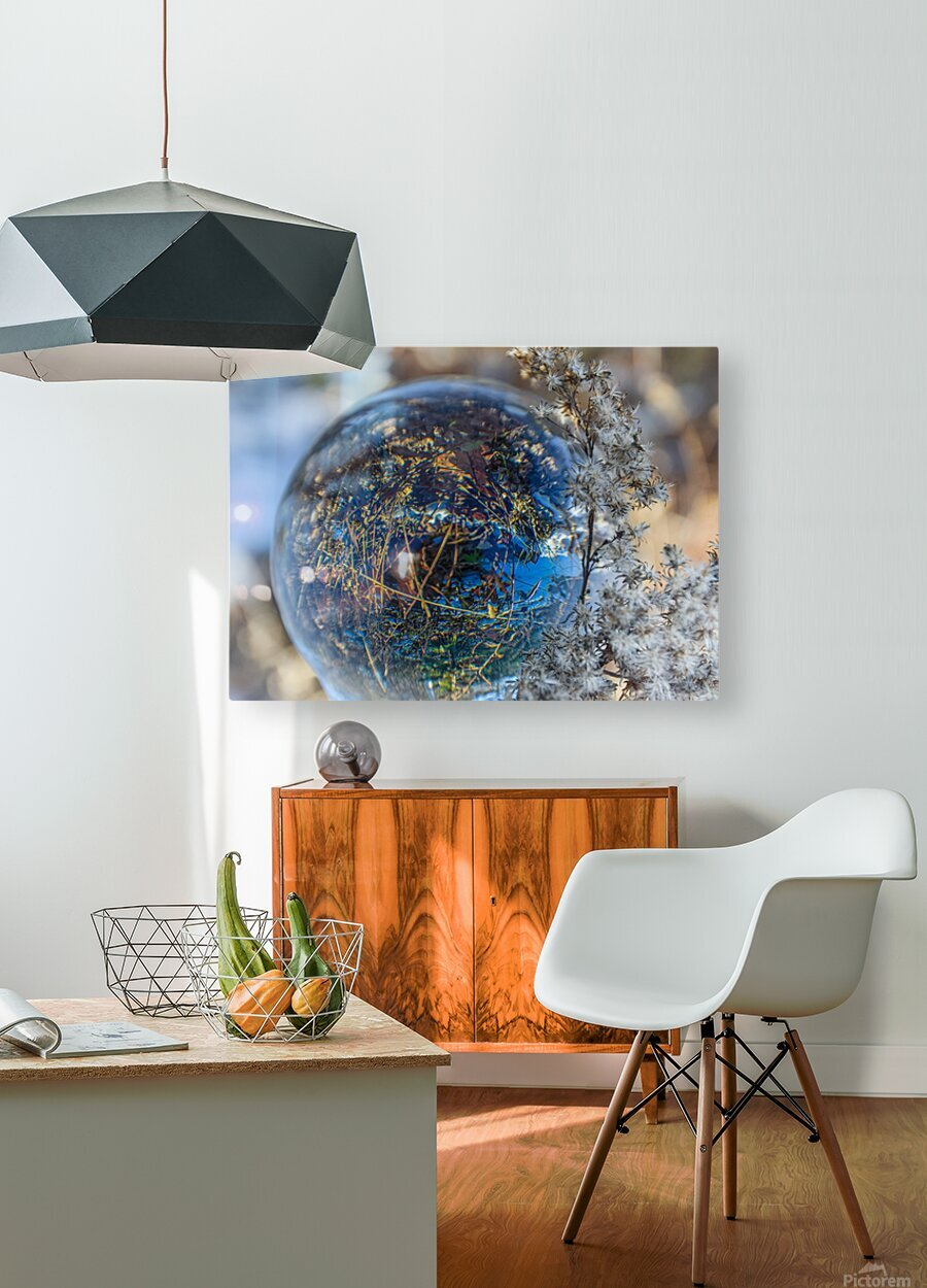 Feuillage  HD Metal print with Floating Frame on Back