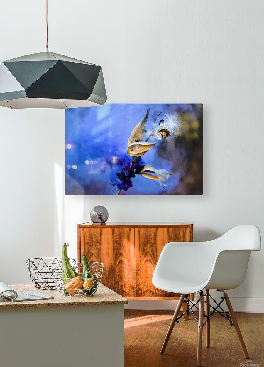 Folie  HD Metal print with Floating Frame on Back