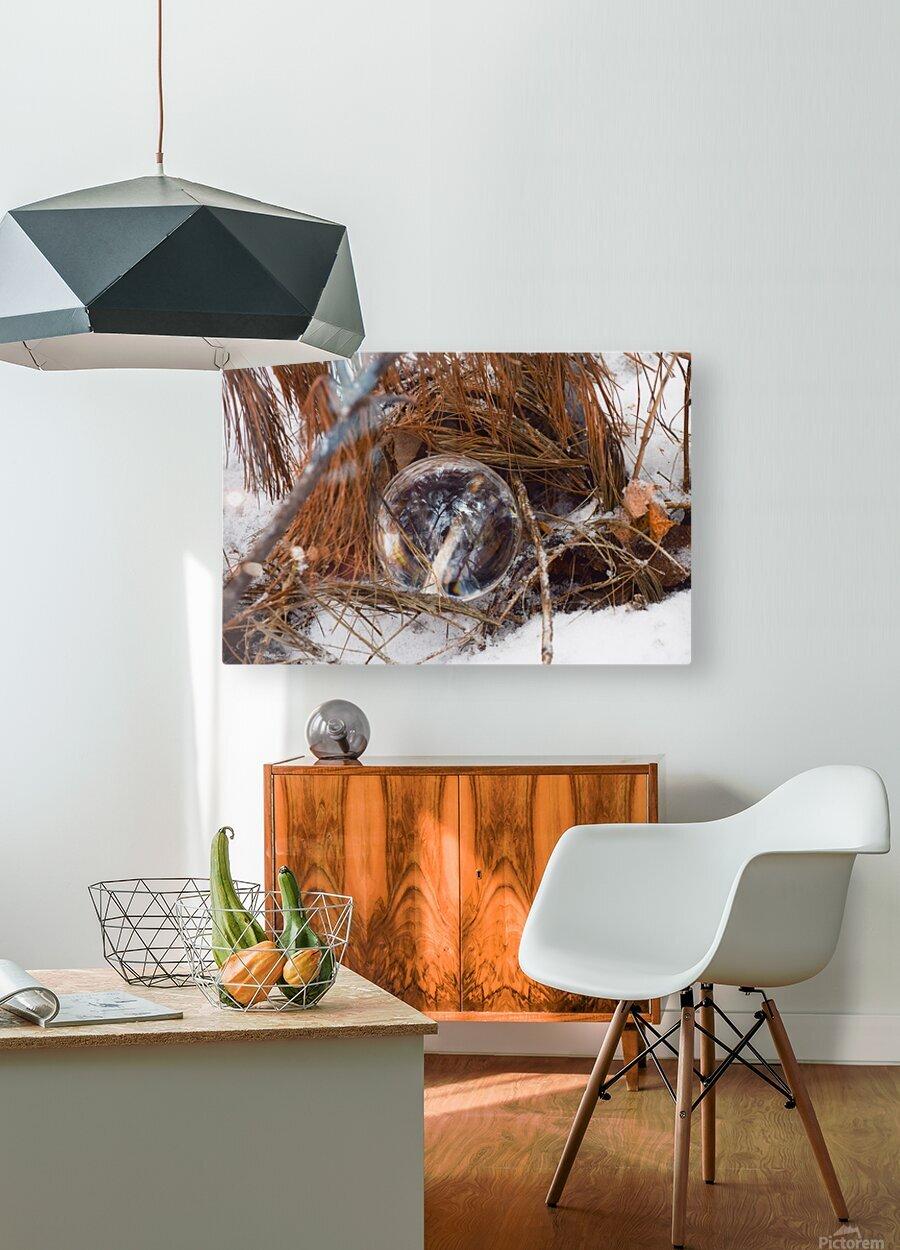 Refuge  HD Metal print with Floating Frame on Back