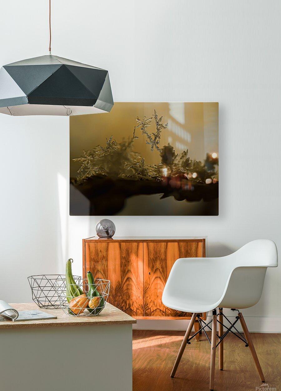 En  equilibre  HD Metal print with Floating Frame on Back