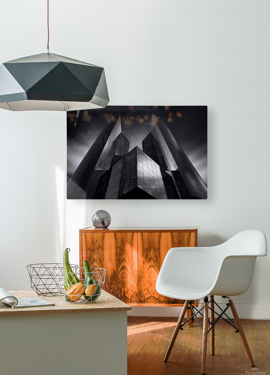 Headquarter by Sebastien DEL GROSSO  HD Metal print with Floating Frame on Back