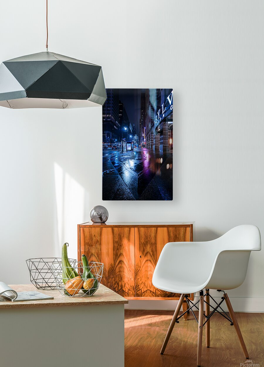 Back To You  HD Metal print with Floating Frame on Back