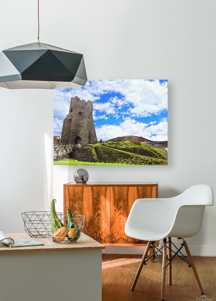 Wondrous Aberystwyth 3 of 5  HD Metal print with Floating Frame on Back