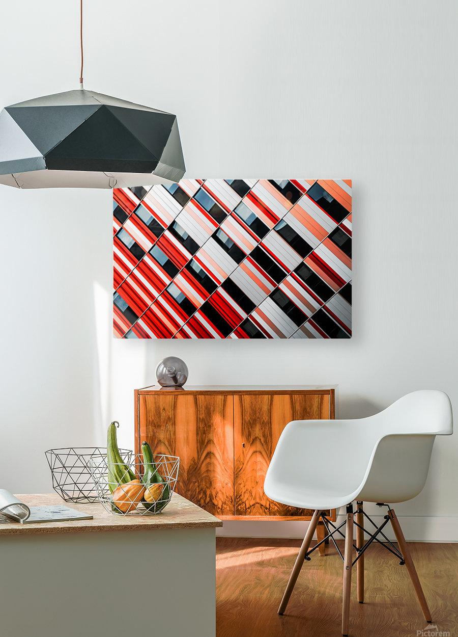 Mo-zA  HD Metal print with Floating Frame on Back