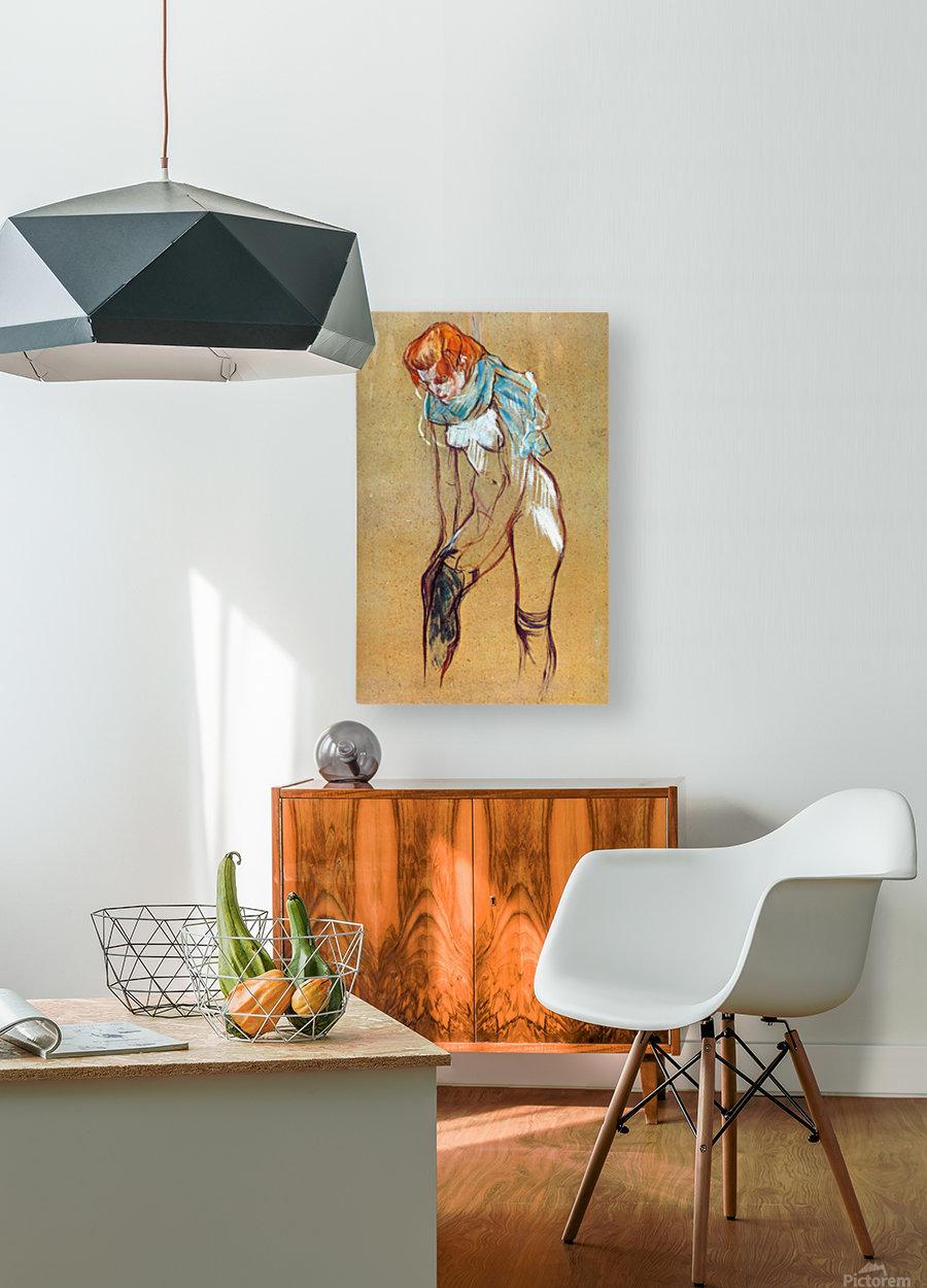 Stockings by Toulouse-Lautrec - Toulouse-Lautrec - Canvas Artwork