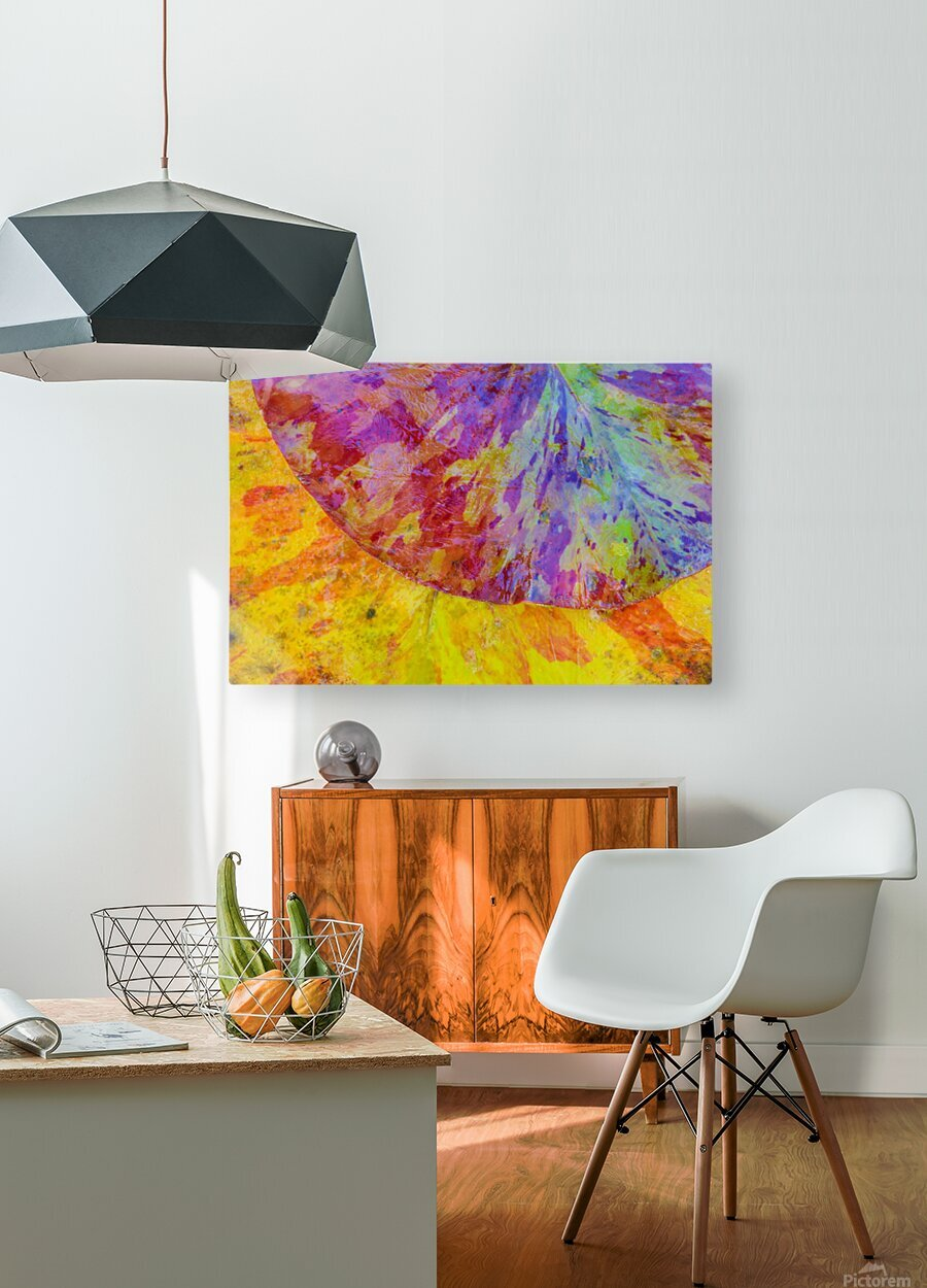 Colors Of Nature ap 2037  HD Metal print with Floating Frame on Back