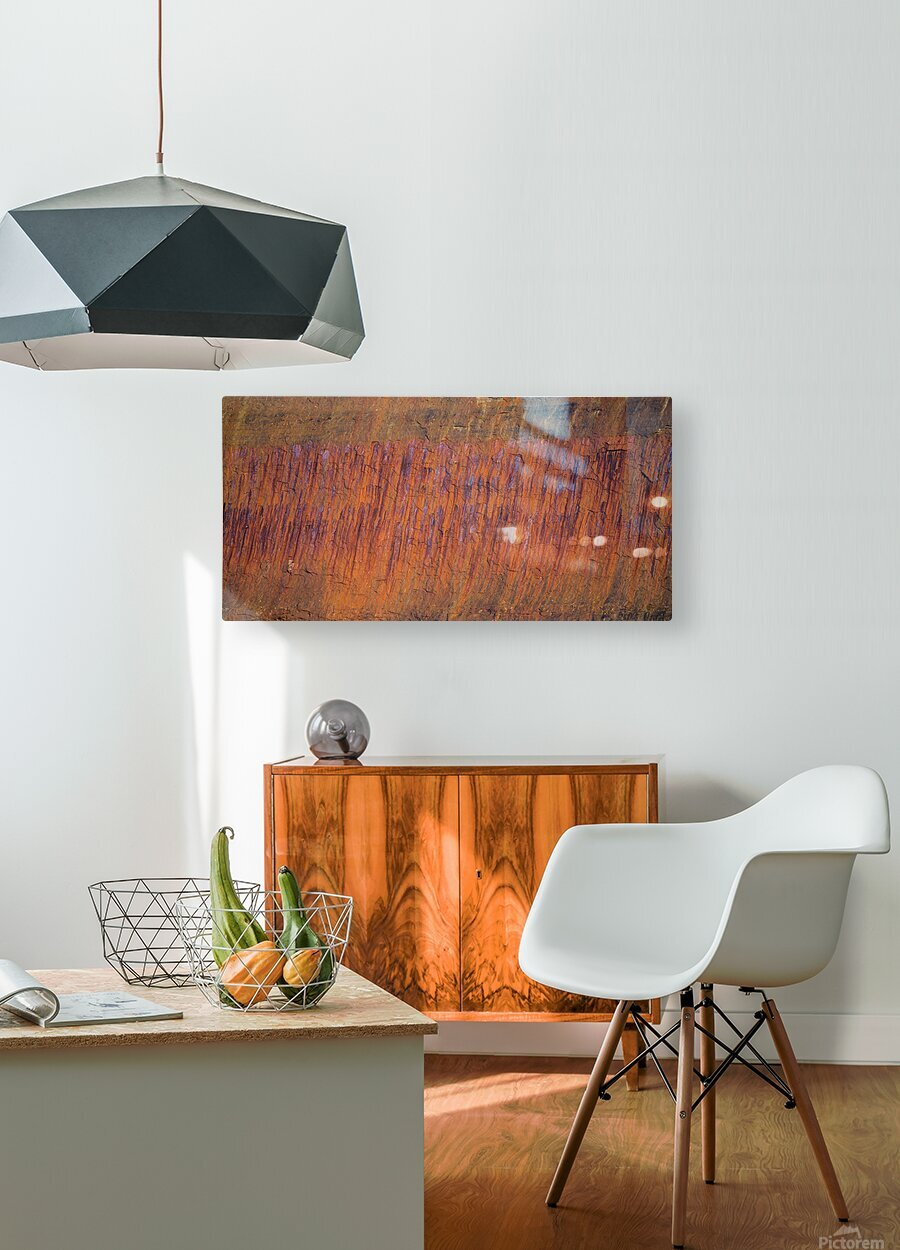 Rust ap 2510  HD Metal print with Floating Frame on Back