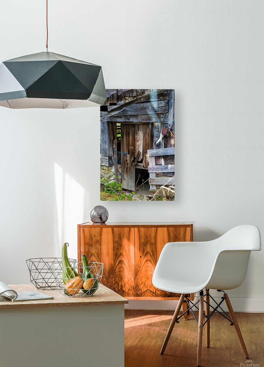 Hints Of Modern ap 1893  HD Metal print with Floating Frame on Back