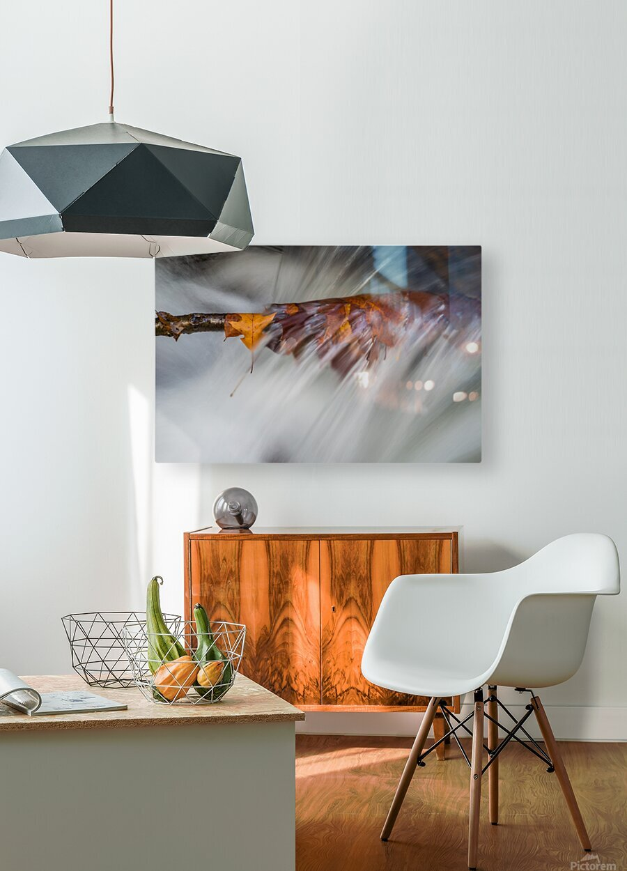 Motion ap 1971  HD Metal print with Floating Frame on Back