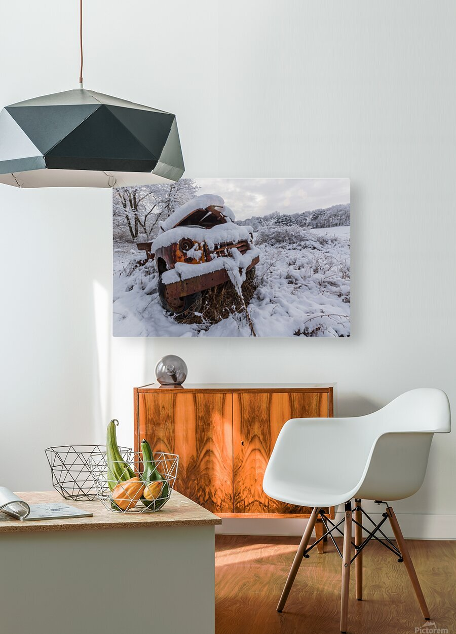 Forgotten ap 2857  HD Metal print with Floating Frame on Back