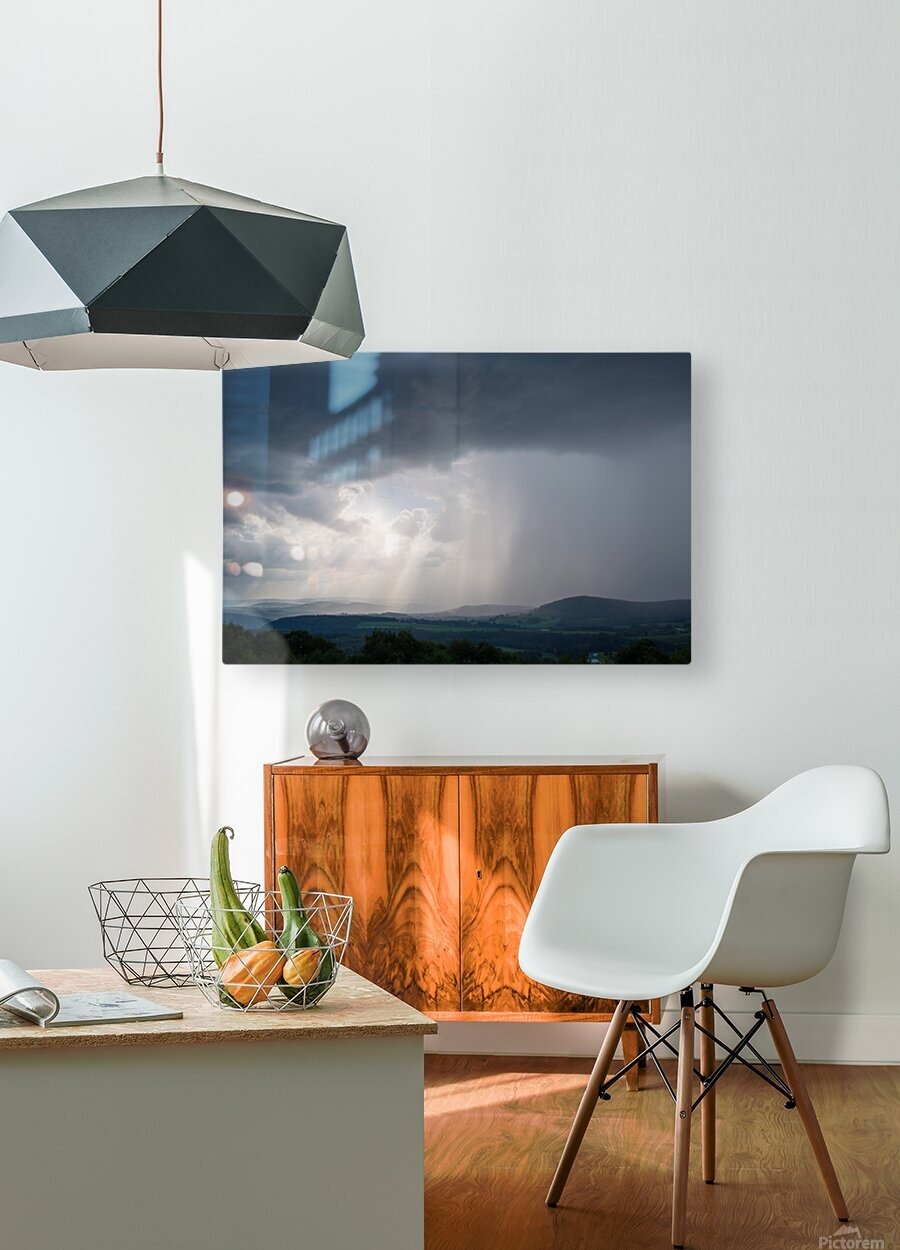 Moving Storm ap 2904  HD Metal print with Floating Frame on Back