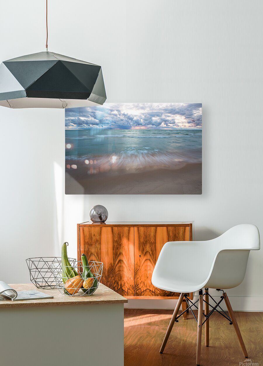 Sunset ap 2448  HD Metal print with Floating Frame on Back