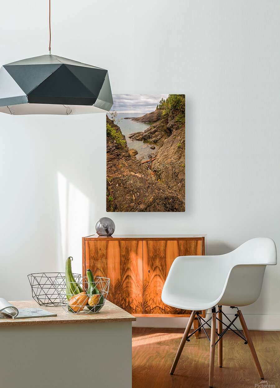 Lake Superior ap 2550  HD Metal print with Floating Frame on Back