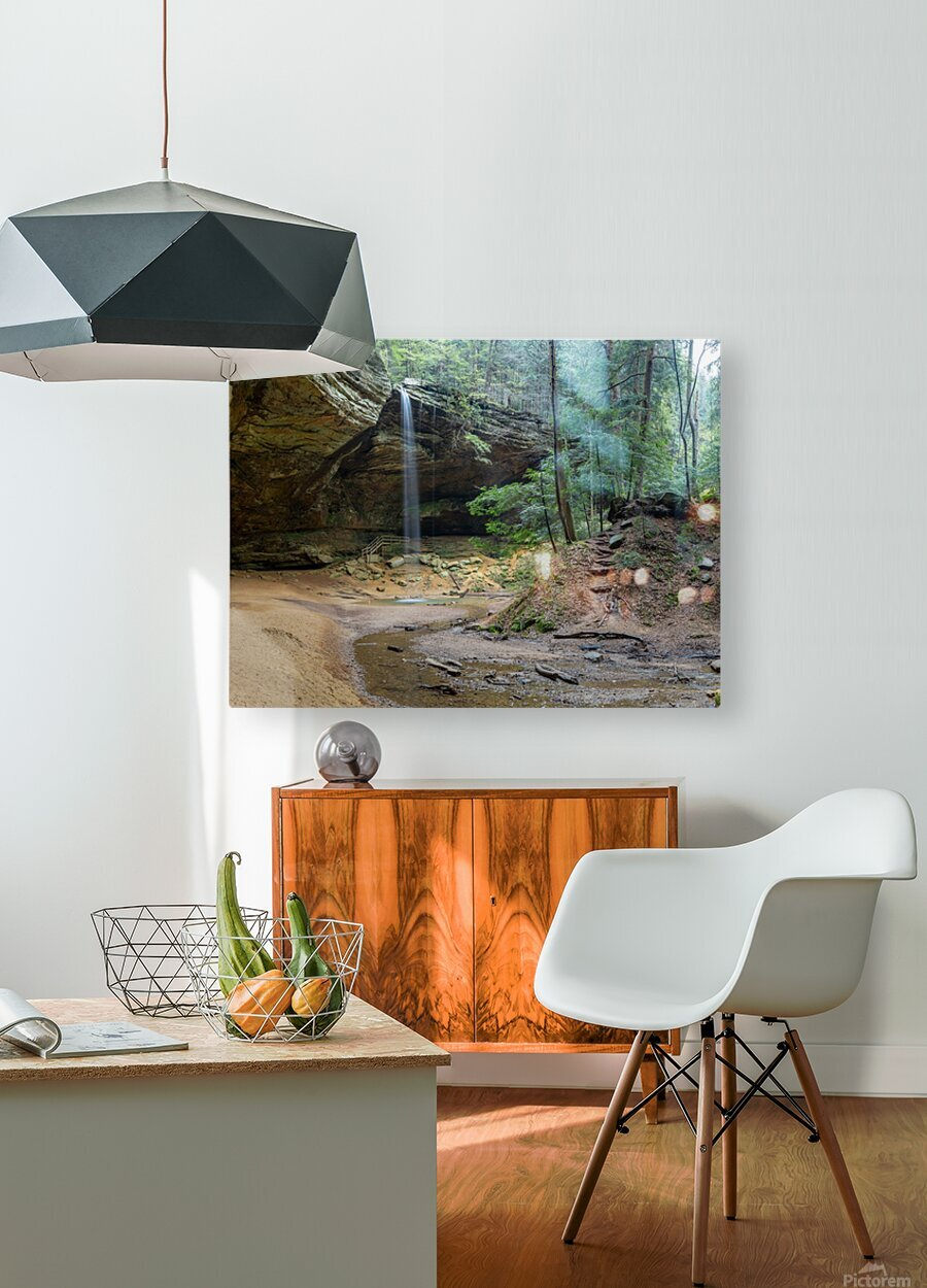 Ash Cave apmi 1642  HD Metal print with Floating Frame on Back