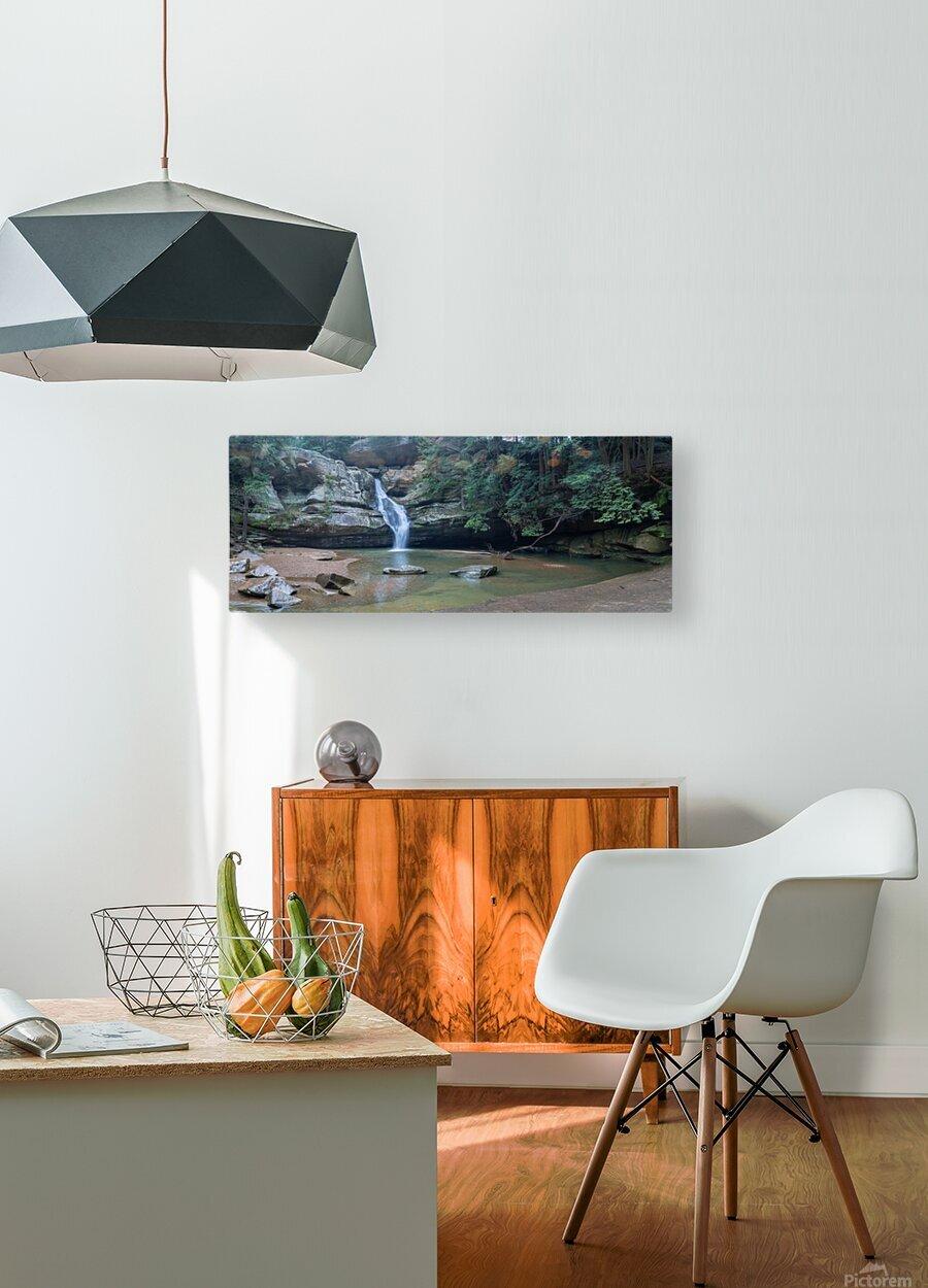Cedar Falls apmi 1627  HD Metal print with Floating Frame on Back