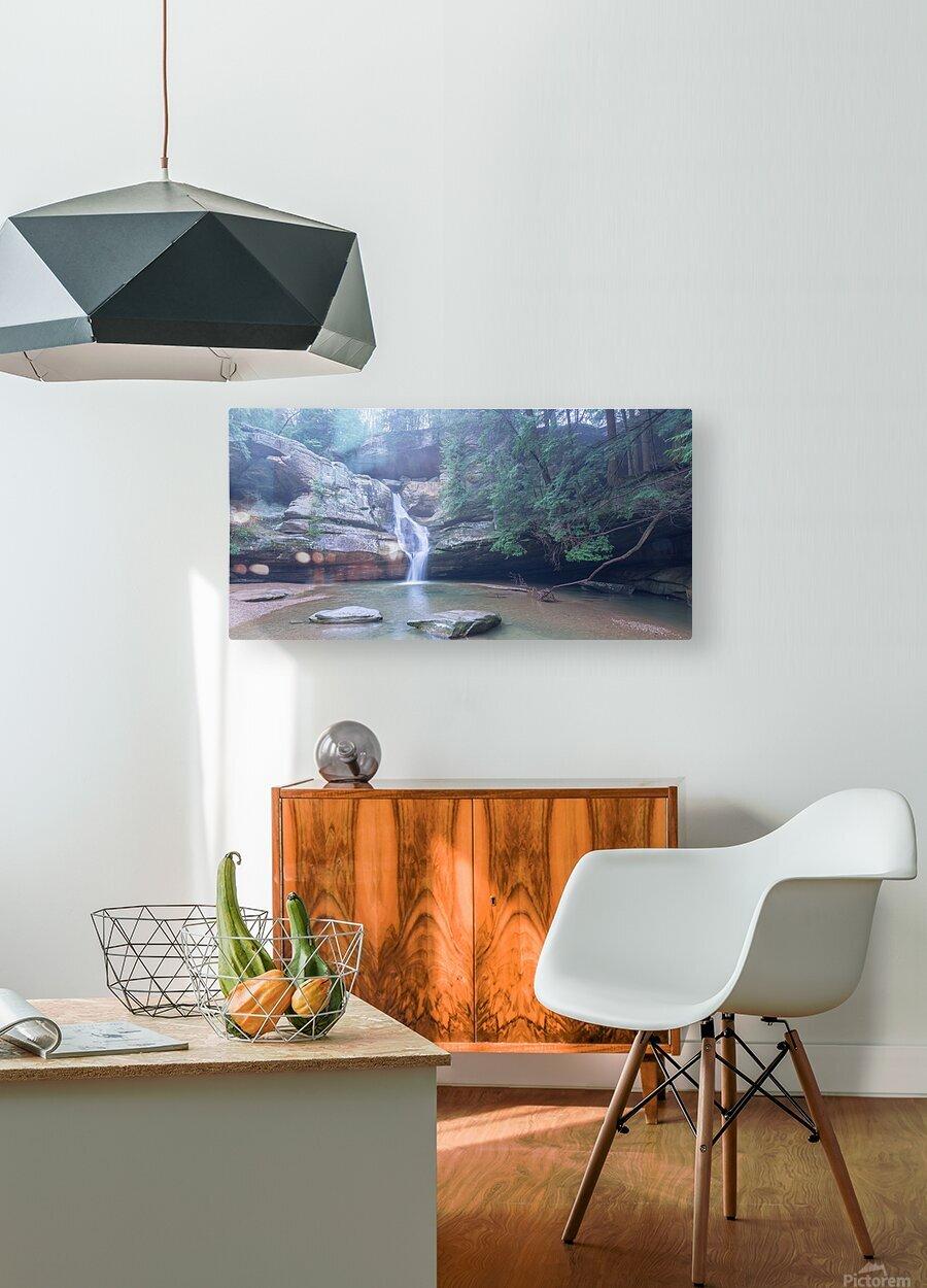 Cedar Falls apmi 1633  HD Metal print with Floating Frame on Back