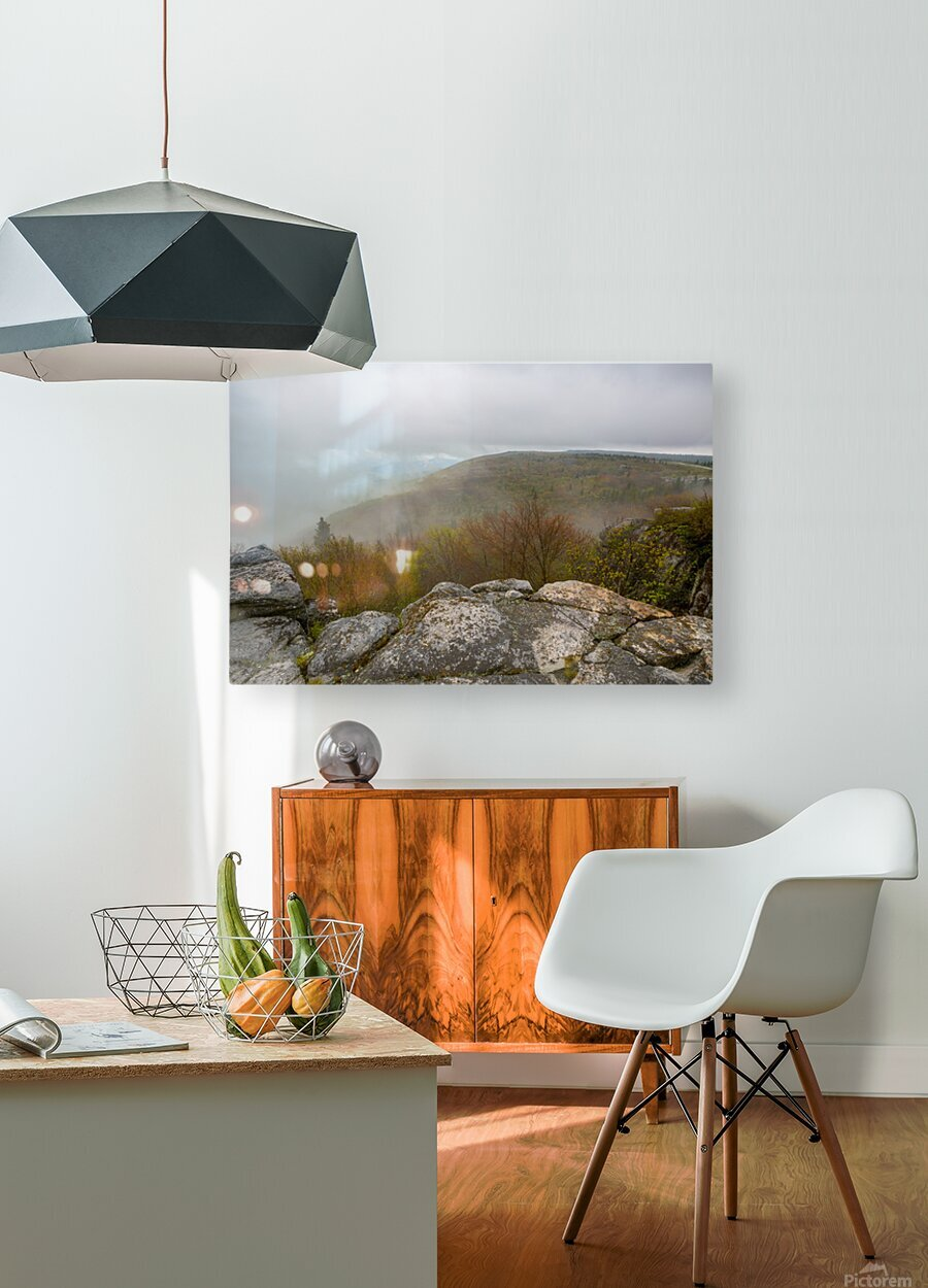 Low Ceiling ap 2945  HD Metal print with Floating Frame on Back
