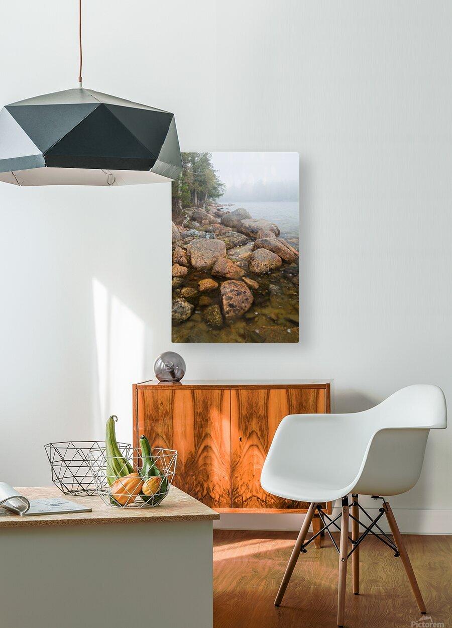 Boulders ap 2369  HD Metal print with Floating Frame on Back