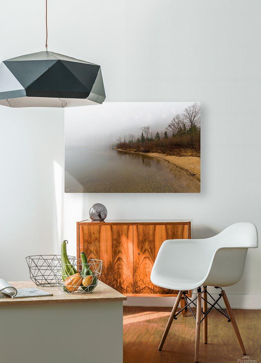 Profile Lake ap 2192  HD Metal print with Floating Frame on Back