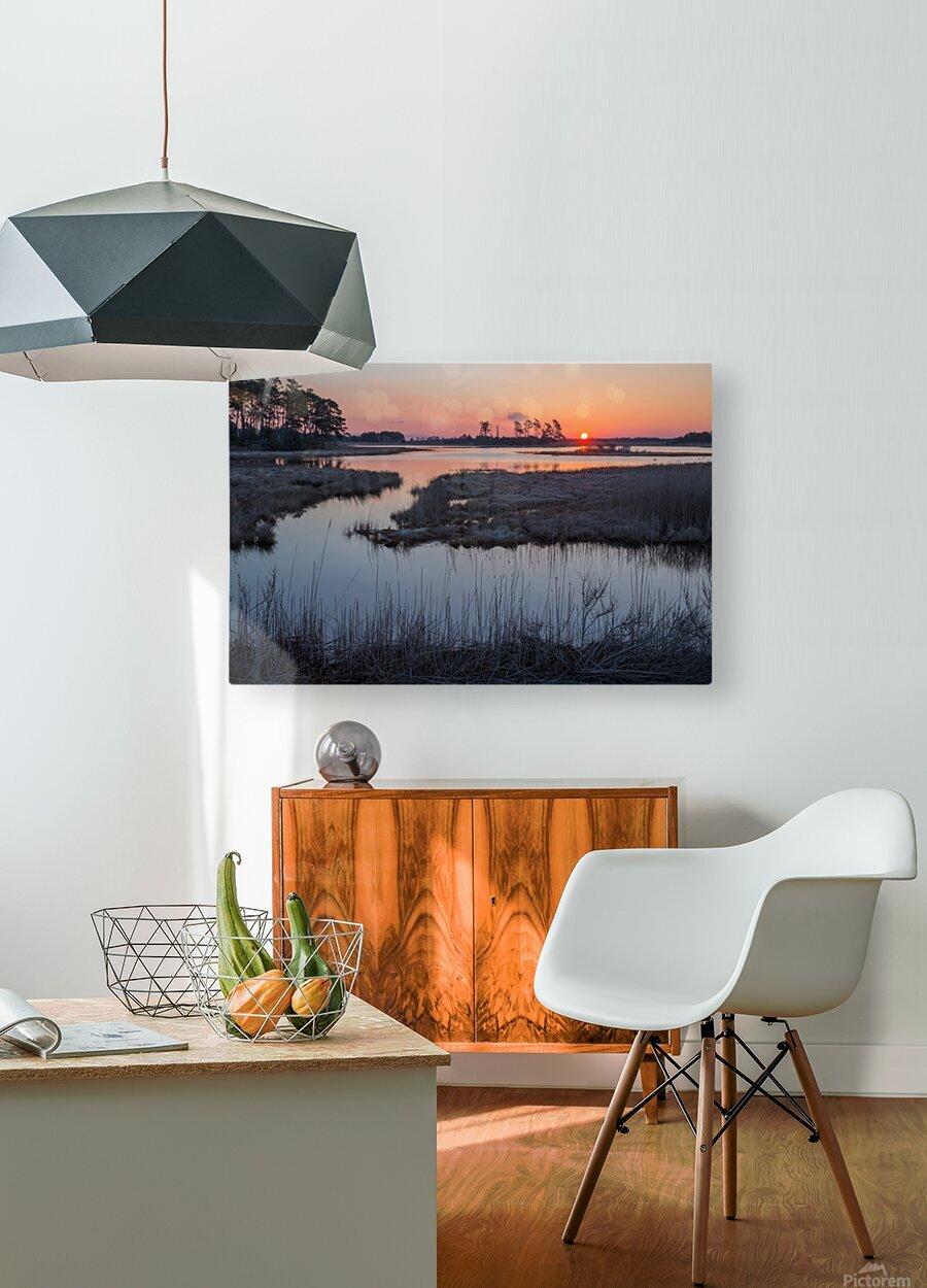 Sunrise ap 2786  HD Metal print with Floating Frame on Back