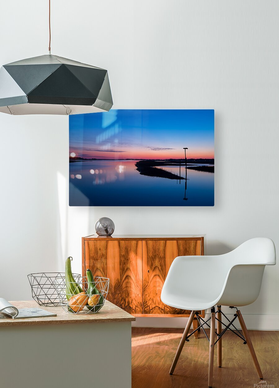 Sunset ap 2762  HD Metal print with Floating Frame on Back